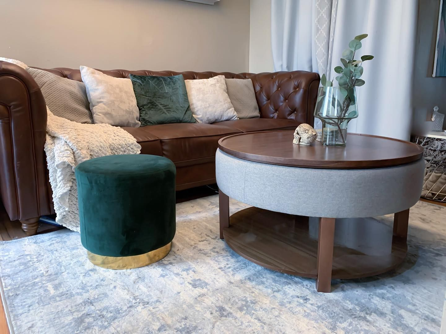 Pin By A Oahz On New In 2021 Coffee Table Coffee Table With Storage Wood Veneer [ 1080 x 1440 Pixel ]