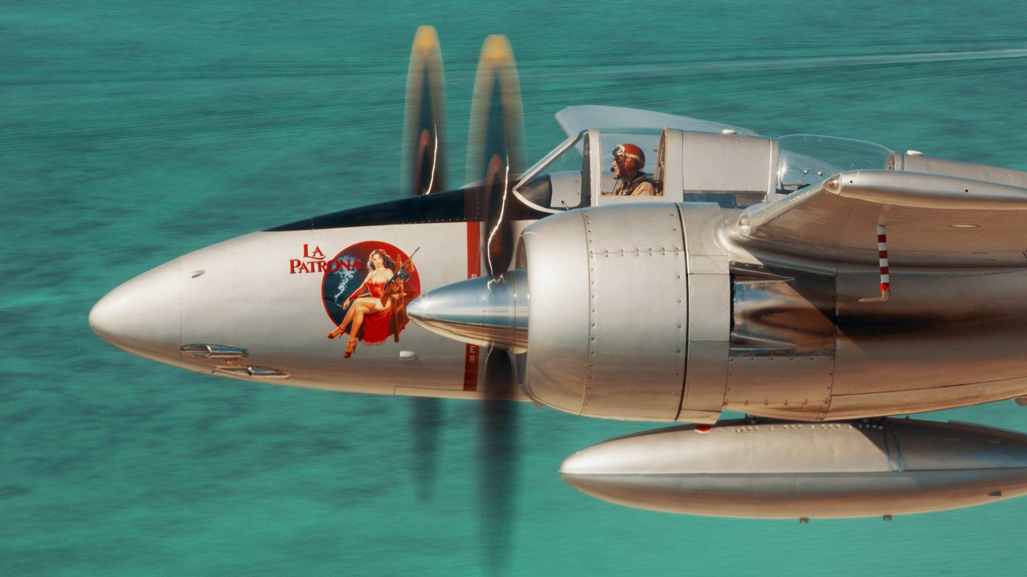 "F7F Tigercat ""La Patrona"".La Patrona, a photorecon"