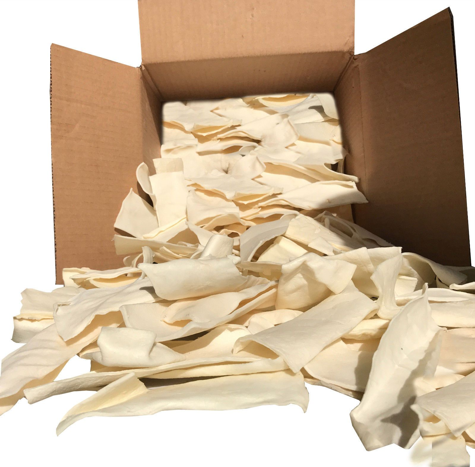 Natural Rawhide Chips For Dogs Bulk Beef Hide Dog Chews By 123