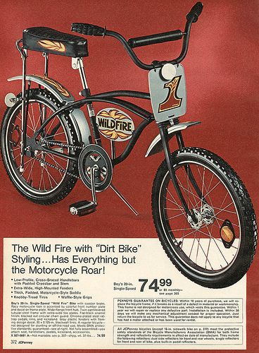 Design Destroy Jcpenney 1974 Via Wishbook Bicycle Vintage Bmx Bikes Lowrider Bicycle