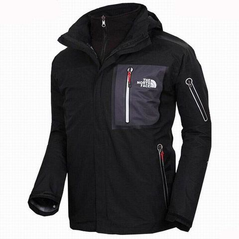 New Mens North Face Triclimate Jacket Clearance Black Sale Online