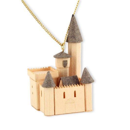 Sautoir Chateau Muraille - Laura des Villes