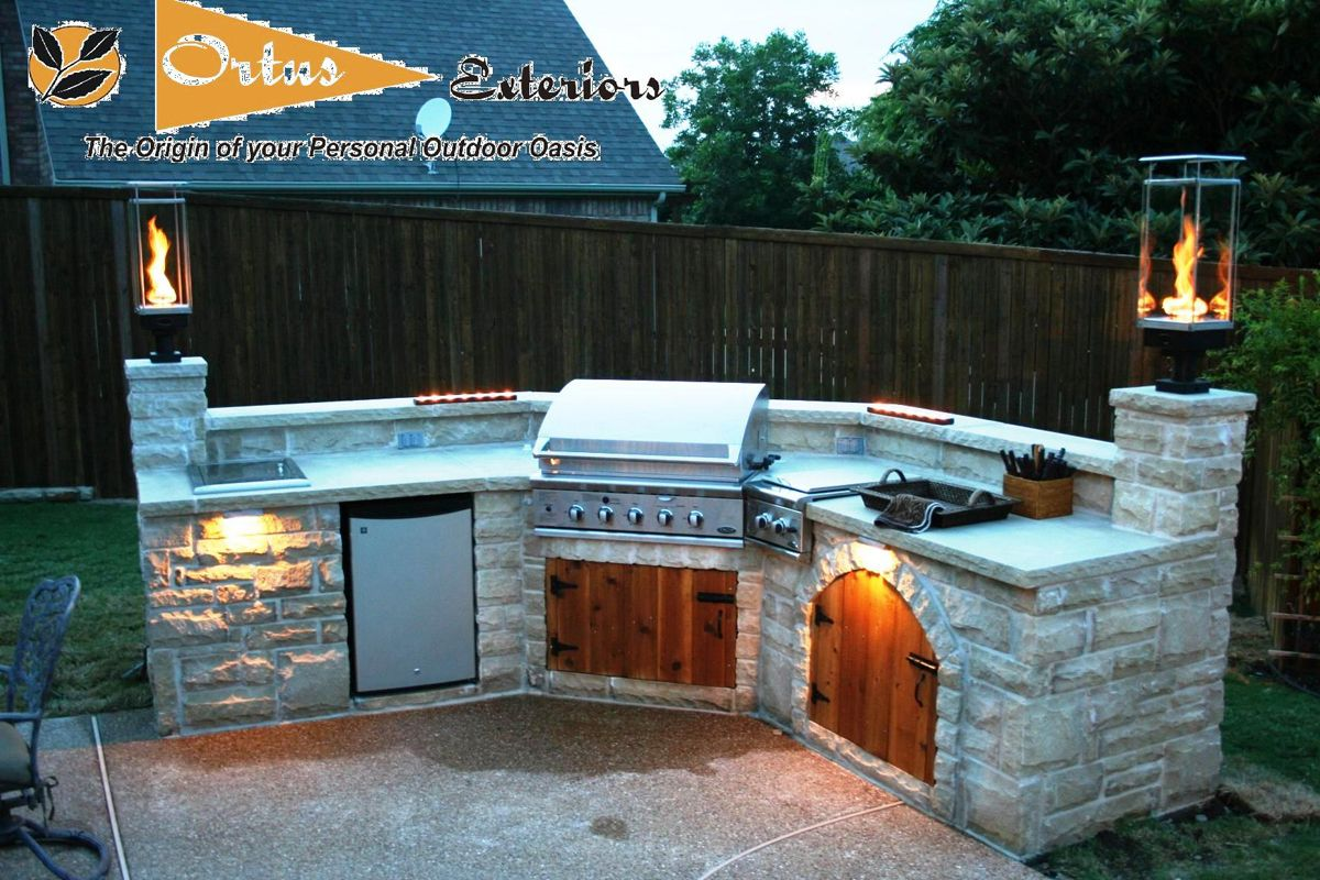 Texas covered patio ideas landscape lighting gas lights patio lighting ideas with marble floor and stone kitchen bench also built in stove and grill also moounted lamps and dishwasher also combine with green aloadofball Gallery