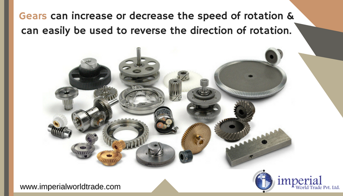 Gears Gears Can Increase Or Decrease The Speed Of Rotation Can