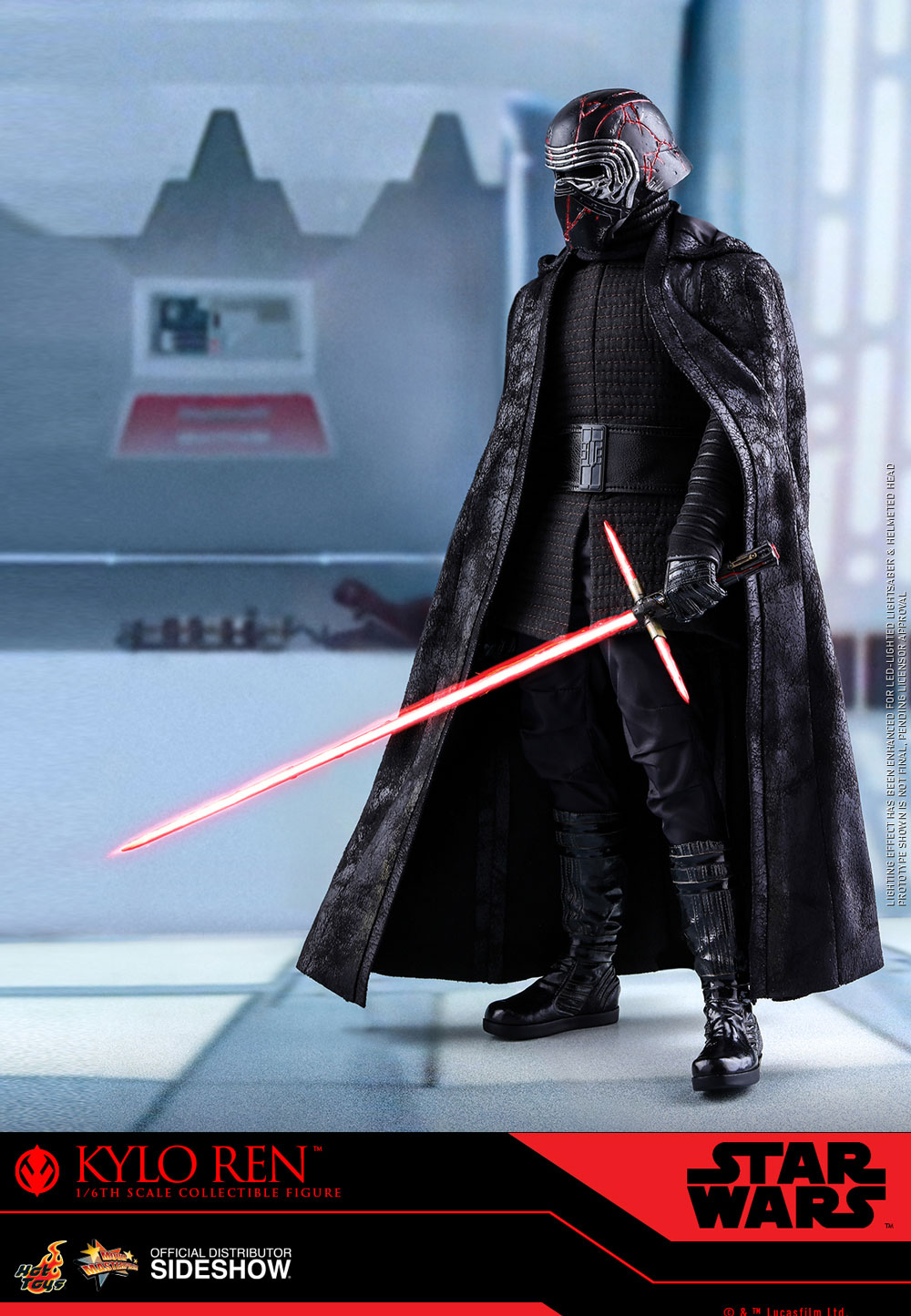 Kylo Ren Sixth Scale Figure By Hot Toys Sideshow Collectibles Hot Toys Star Wars Kylo Ren