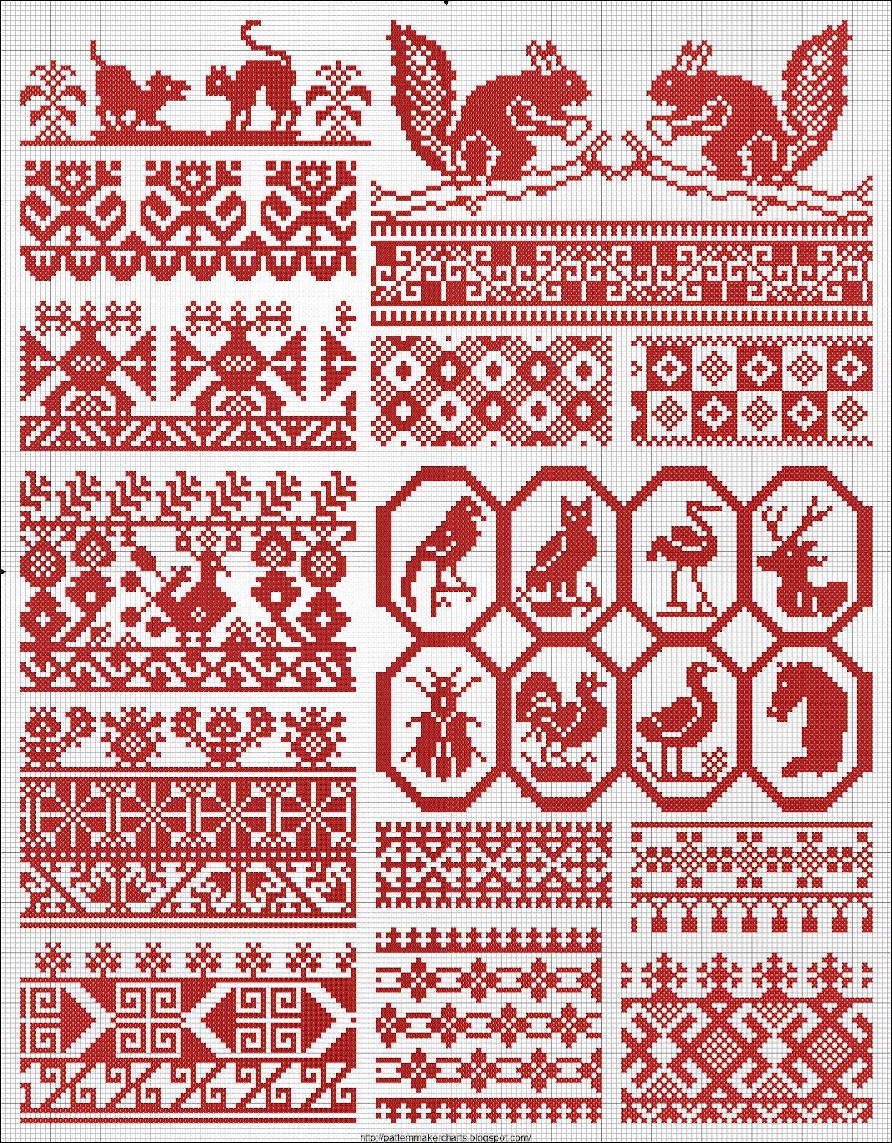 Photo of Russian Patterns from 1877   (NEW PDF book Download)    I want to thank Valérie…