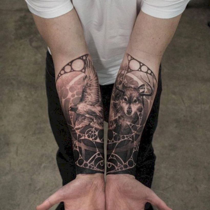 32 Ridiculously Cool Tattoo For Men In Your Hand 99outfit Com Forearm Tattoos Forearm Sleeve Tattoos Cool Tattoos For Guys