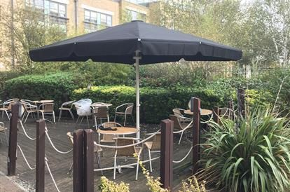 images about giant umbrellas on pinterest newquay orange trees and acton london: metre giant umbrella