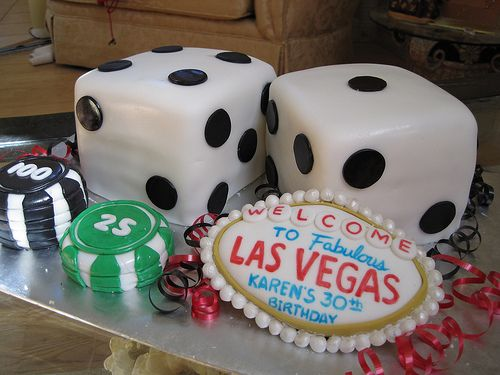 Las Vegas Birthday Cake Vegas birthday Birthday cakes and Birthdays