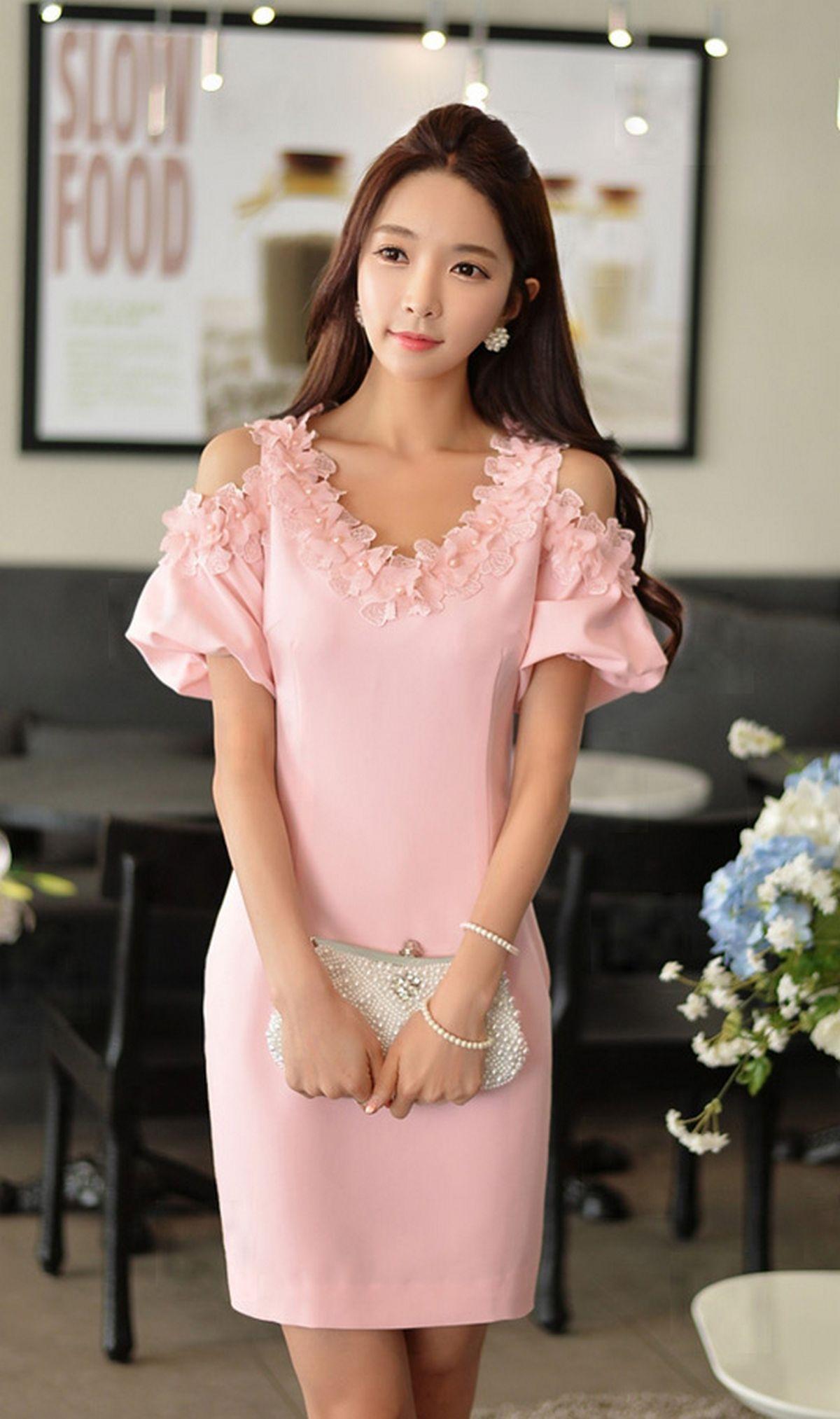 64 Pink Sleeve Dress Idea for Daily Action | Con estilo, Princesas y ...