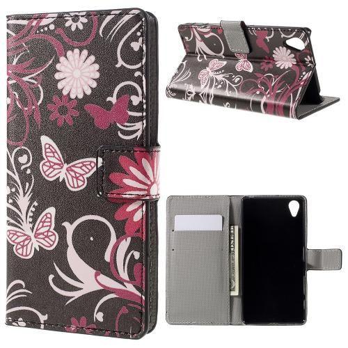 Köp Plånboksfodral Sony Xperia X svart fjäril online: http://www.phonelife.se/planboksfodral-sony-xperia-x-svart-fjaril