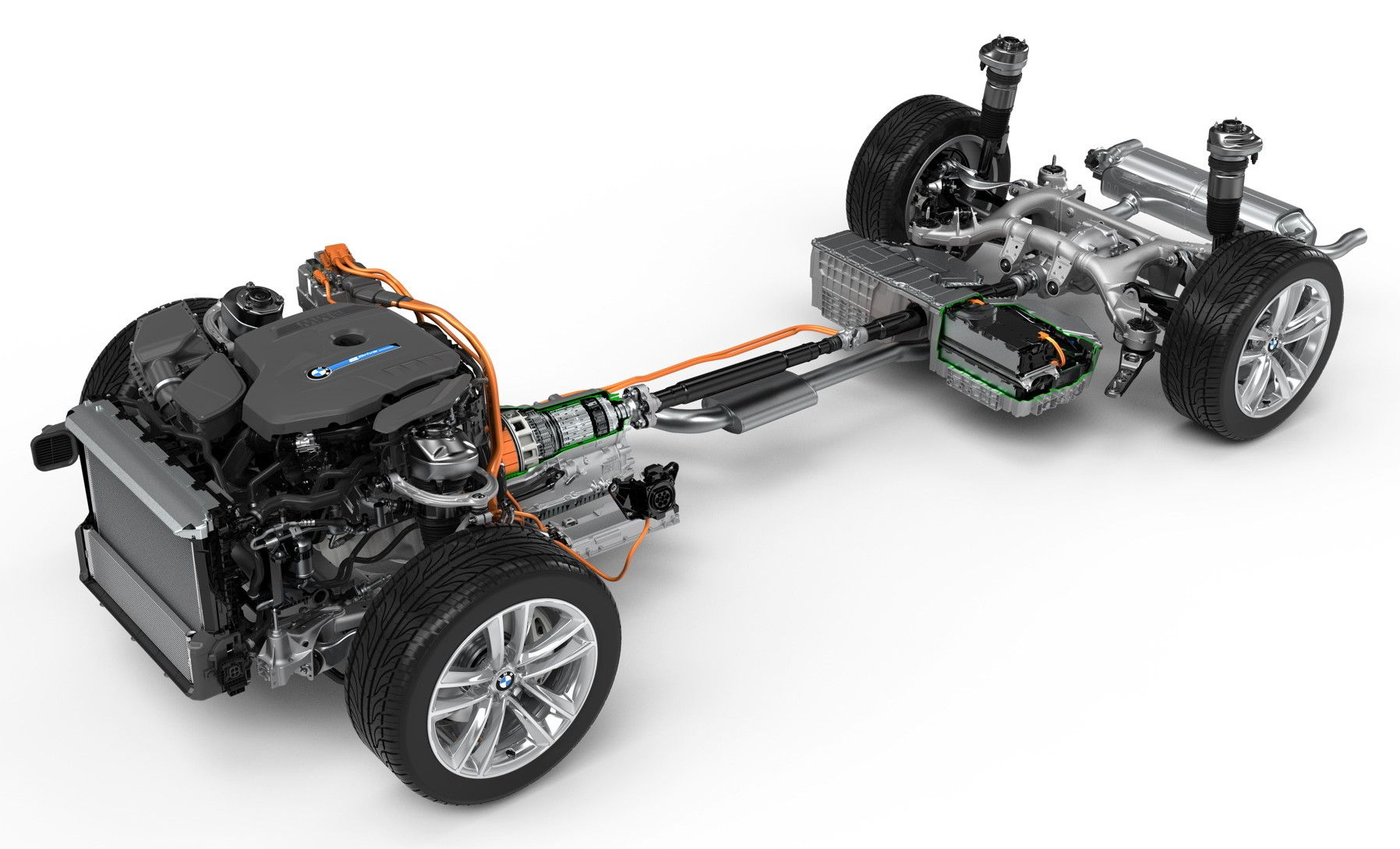 BMW's iPerformance plugin hybrid electric vehicle (PHEV