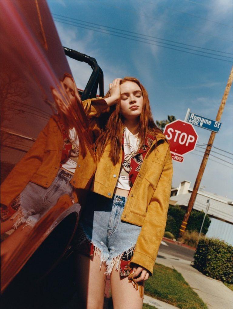 Stranger Things Star Sadie Sink Collaborates With Pull Bear On These Looks Sadie Sink Stranger Things Actors Sadie