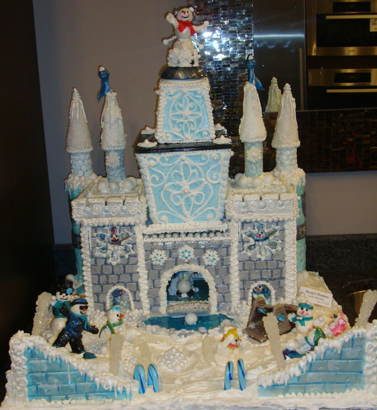 2012 Holiday Gingerbread Contest (With images) Christmas