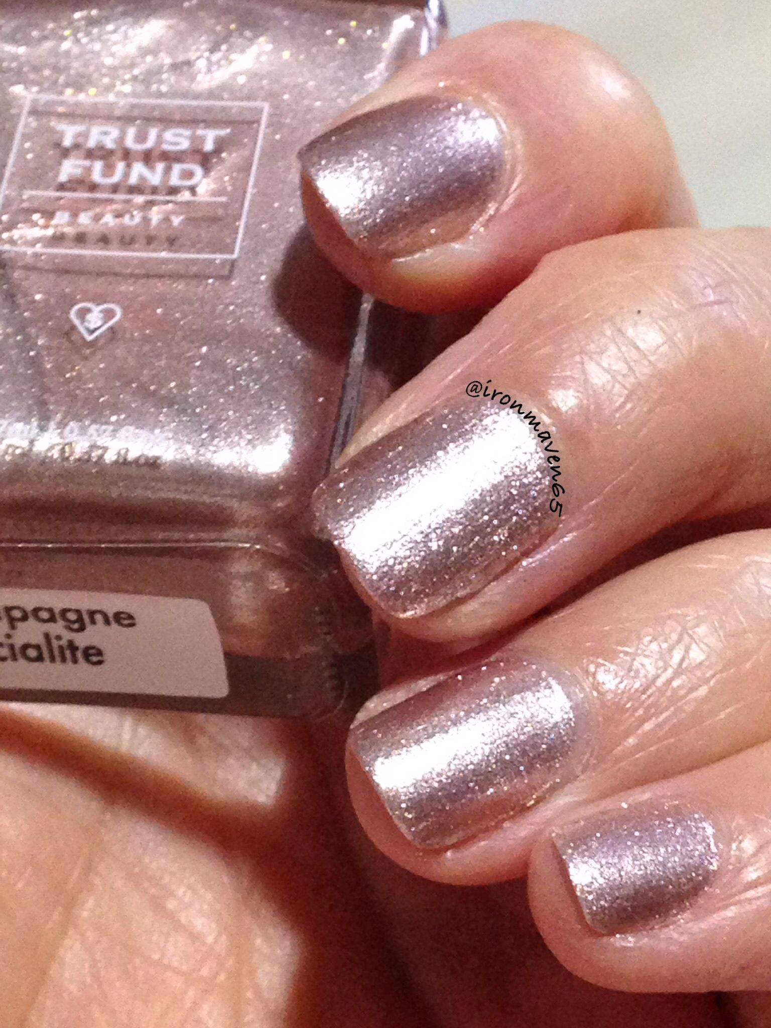 Trust Fund Beauty: Champagne Socialite- a rose gold foil | I love ...