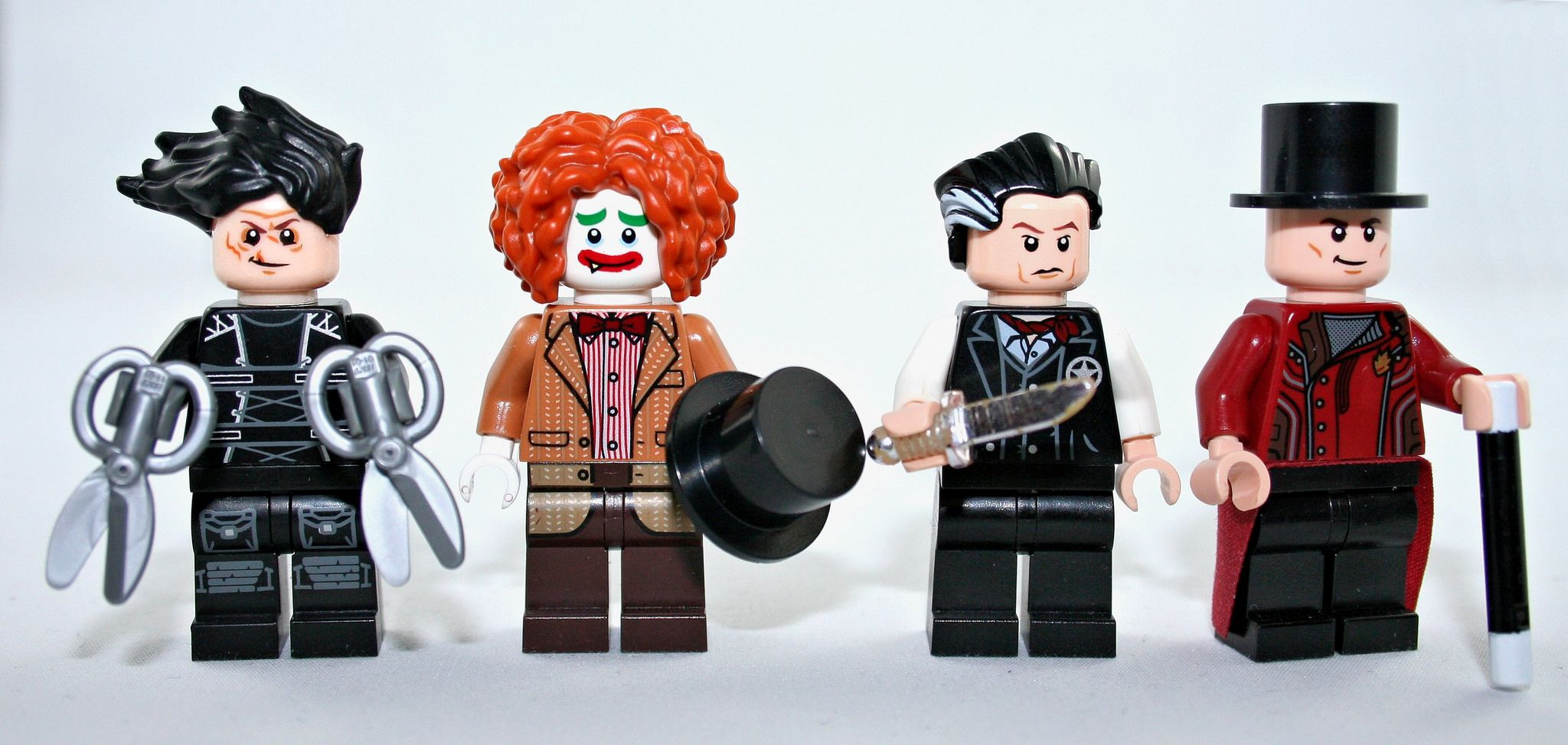 Lego Johnny Depp Figbarf Part 3 Sweeney Todd Lego And Lego Figures