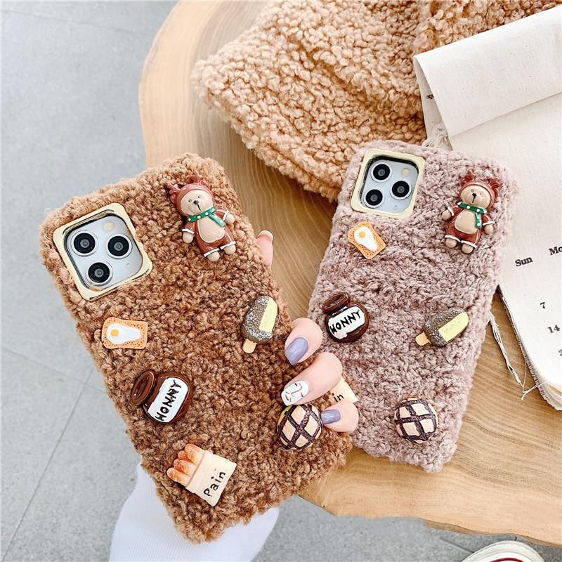 Cute food phone case for iphone 77plus88pxxsxrxs