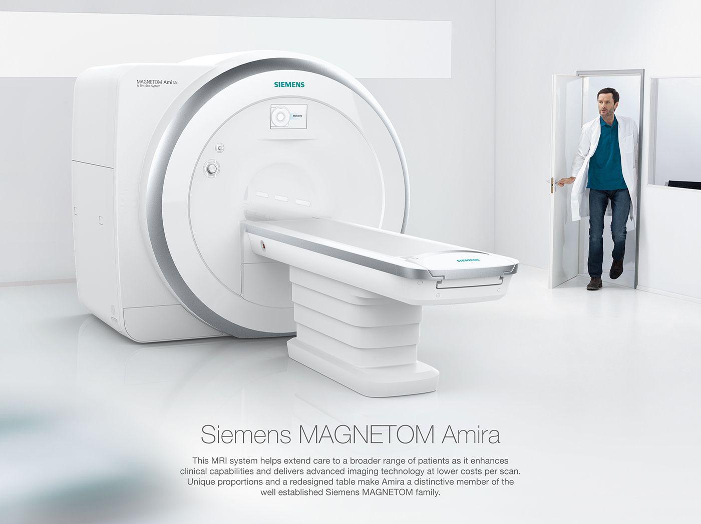 Siemens Amira MRI Scanner on Behance Mri