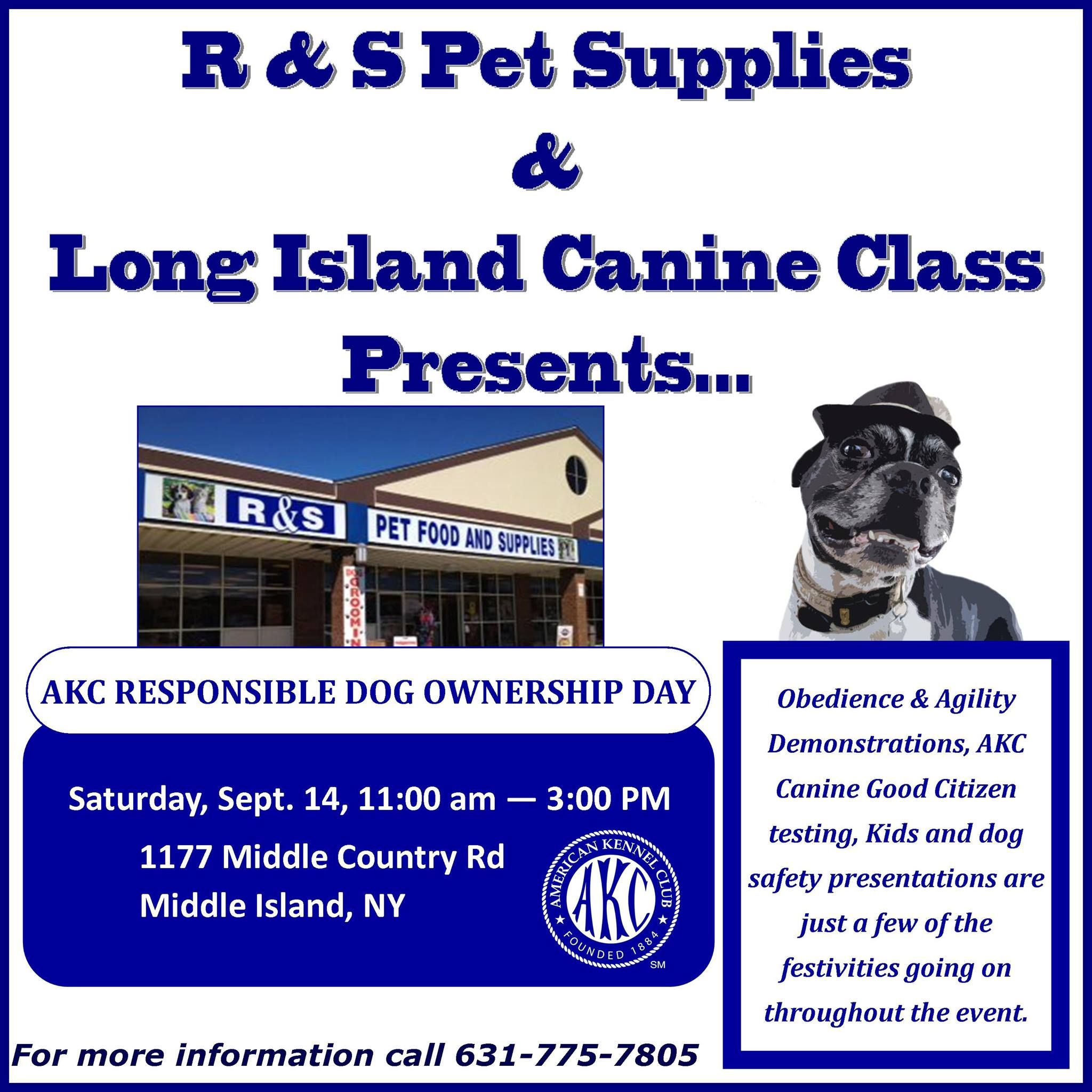 Come and join R PET SUPPLIES, PAWS UNITE PEOPLE and LONG