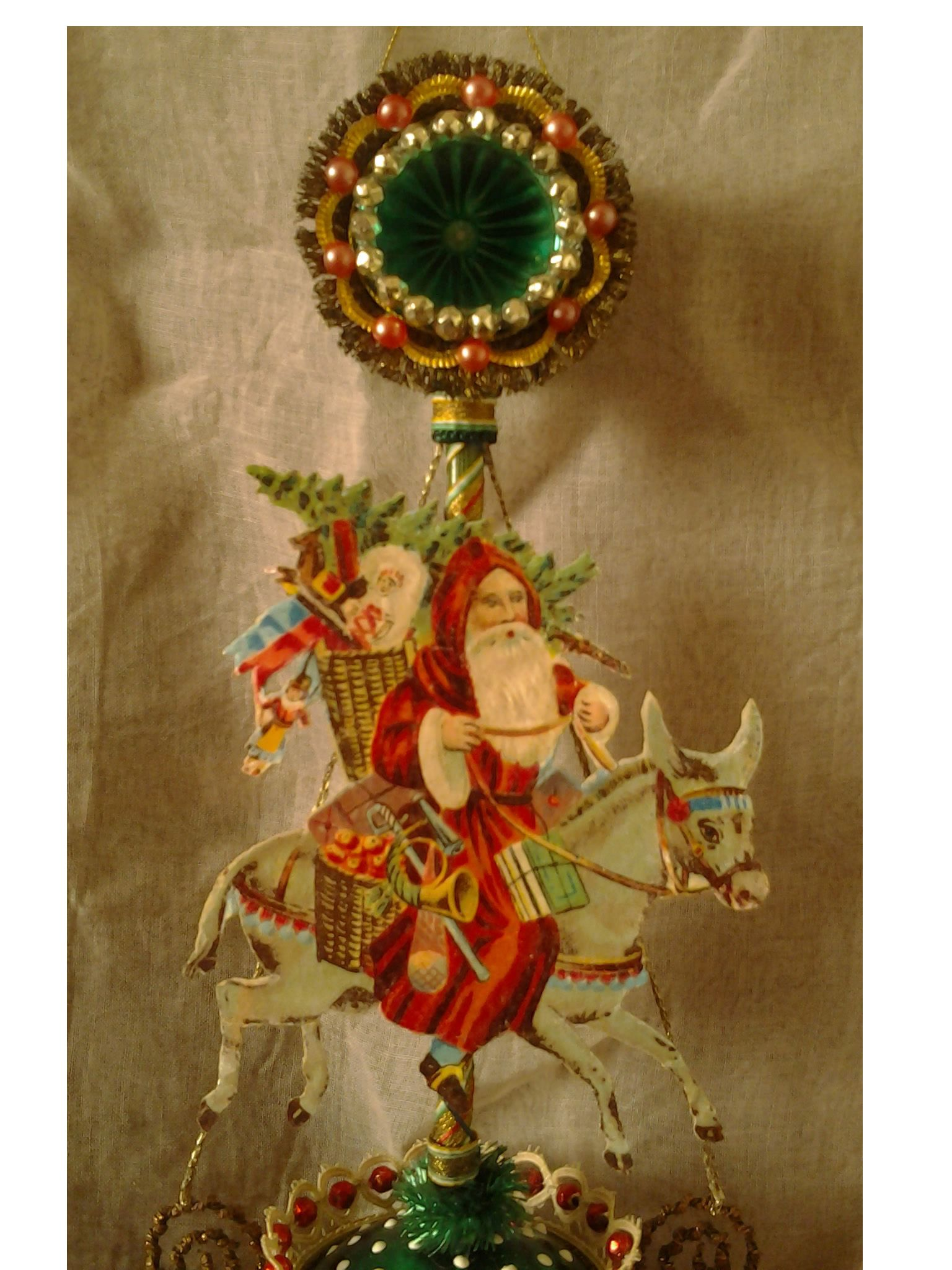 Victorian style christmas ornament, my creation. Massimo