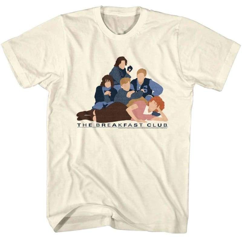 Bc Poster Adult Ringer T Shirt Breakfast Club
