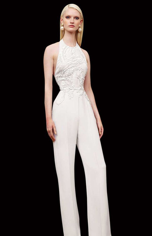 Awesome Casual Wedding Dresses 25 Unconventional Bridal Pants and ...