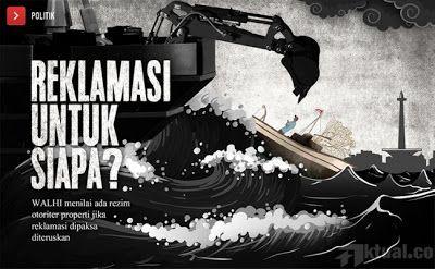 Setelah Pulau K PTUN Juga Perintahkan Ahok Cabut Izin Pelaksanaan Reklamasi Pulau F