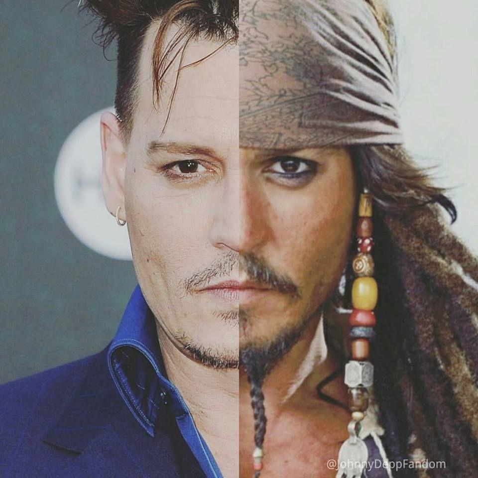 Johnny Depp & Capt Jack Sparrow