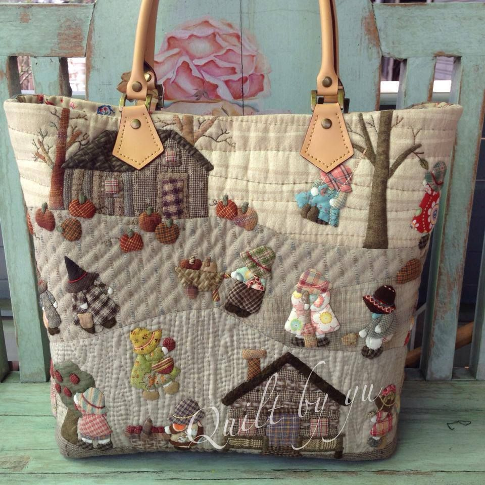 Pin by Nazan Naz on bagsss | Pinterest | Patchwork, Bag and ... : quilt bag - Adamdwight.com