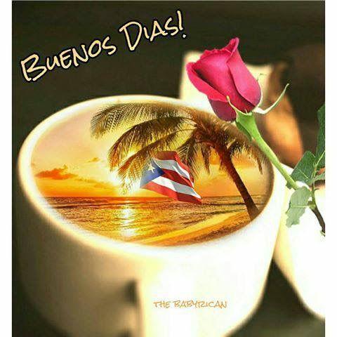 Buenos Dias Puerto Rico Nj Feliz Año Nuevo Y Muchas Bendiciones Para Todo El Que Leea Esto En Esta Mañana Di Puerto Rico Puerto Rican Flag Puerto Rico Pictures