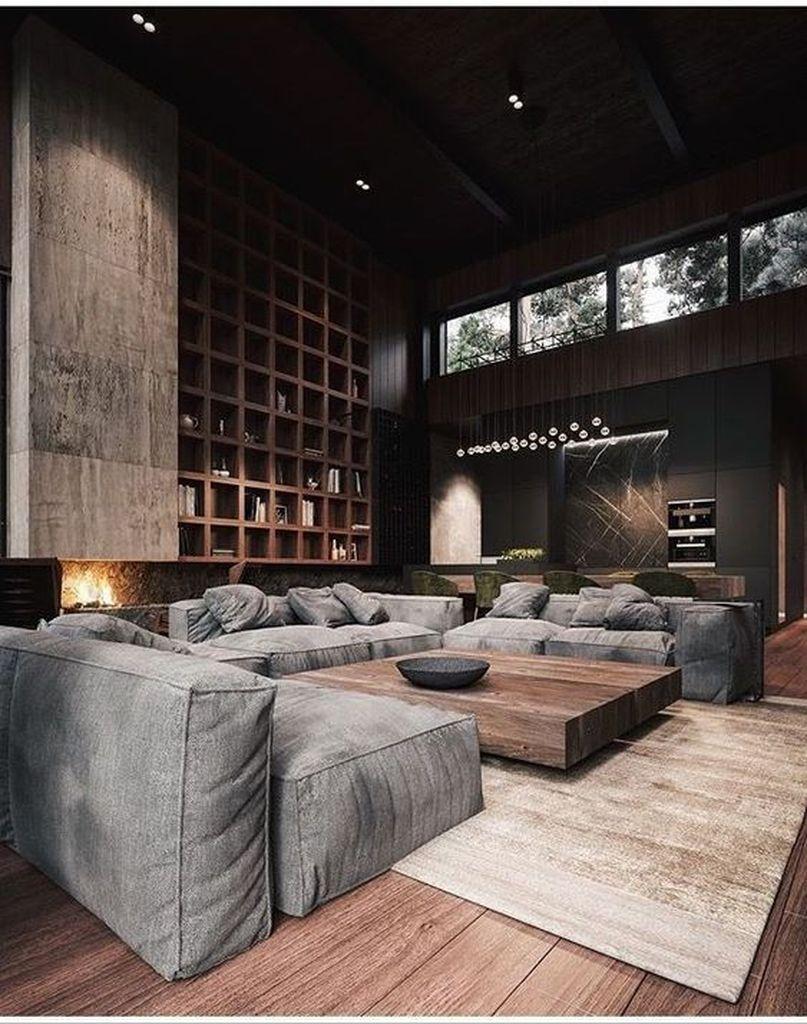 19 Amazing Interior Design Ideas For Modern Loft en 19  Salon