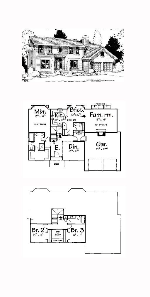 Plan 68989 How To Plan House Plans Saltbox Houses