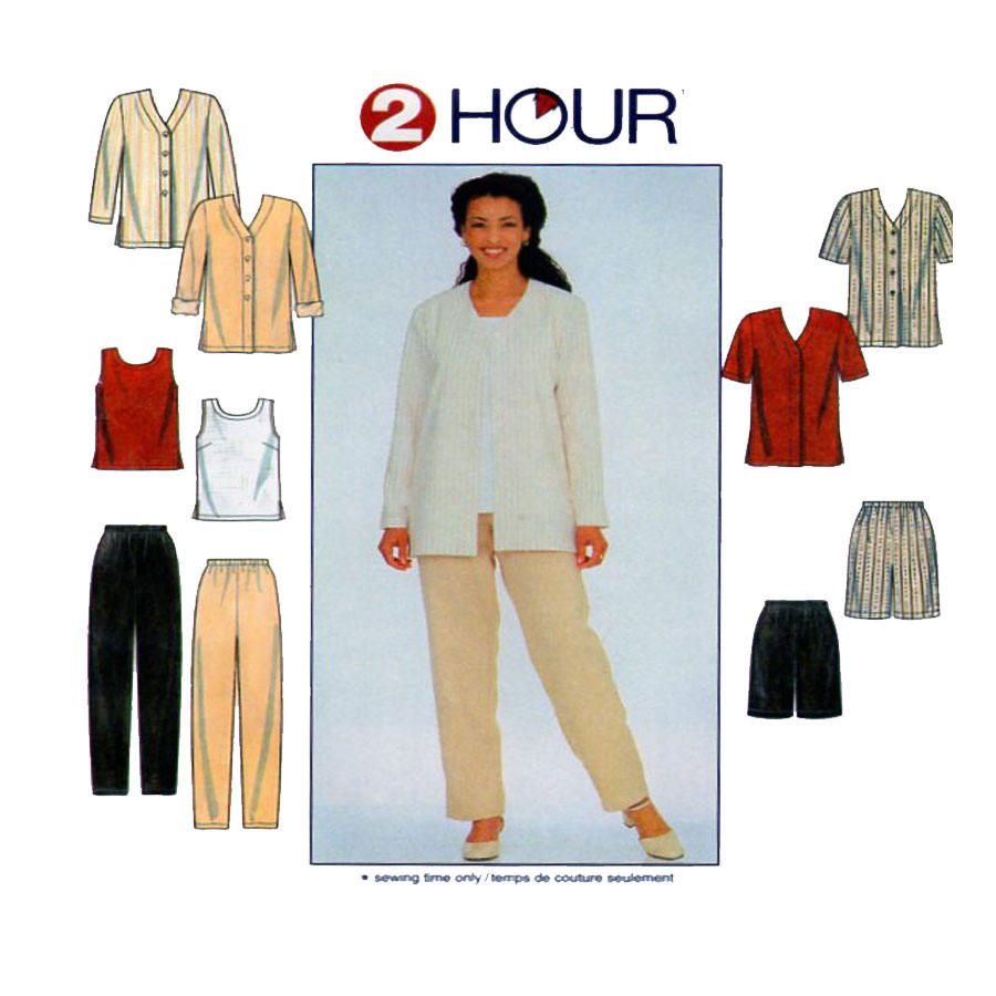 Simplicity 8186, Women Sewing Pattern, Button Front Jacket, Tunic ...