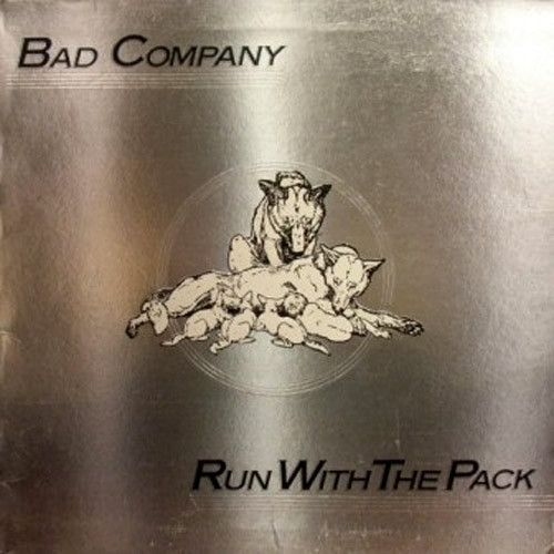 Bad Company Run With The Pack Vinyl Lp Rock Album Covers Used