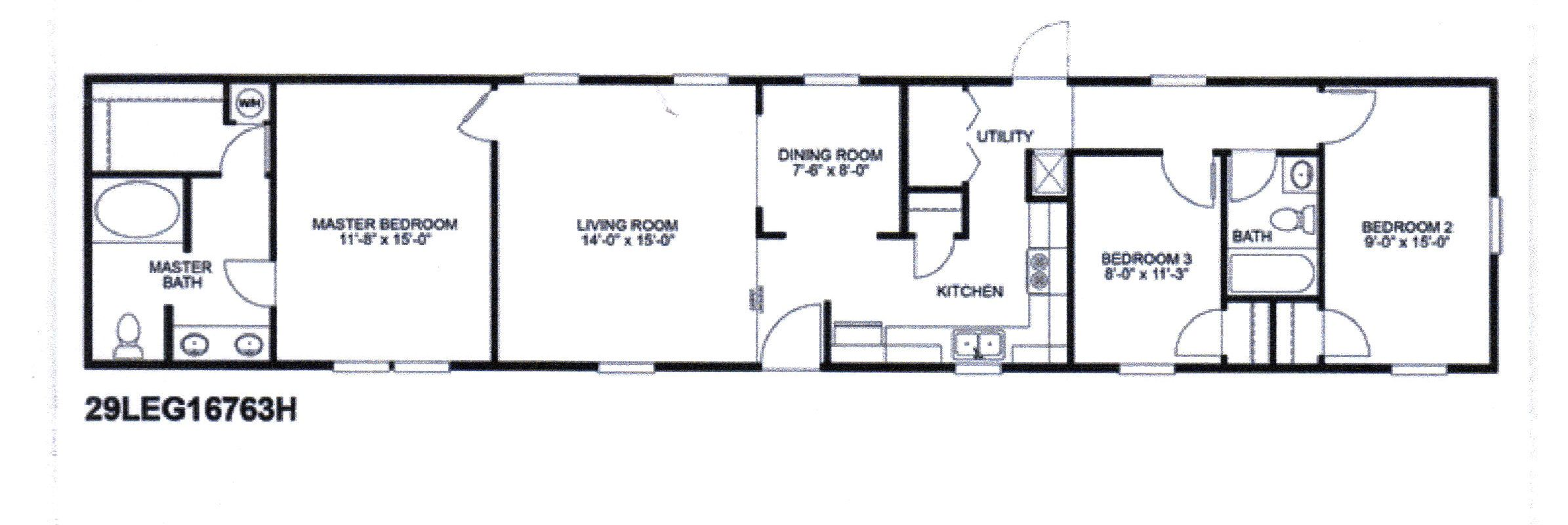 The Legend Floor Plan Mobile Home Floor Plans Floor Plans House Floor Plans