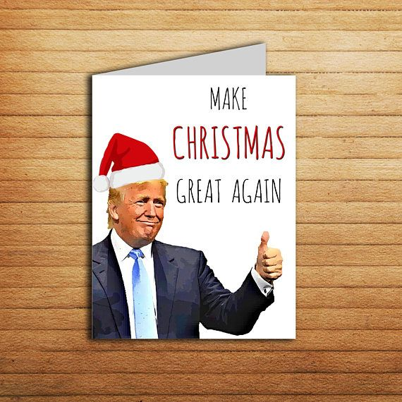 Donald Trump Love Card Funny Anniversary Card Printable Birthday