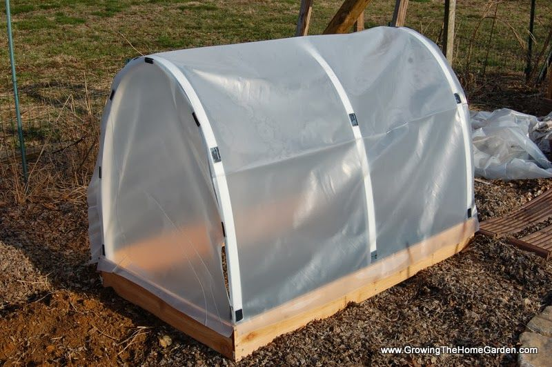 How to Build a Mini-Hoop House to Get an Early Start in ...