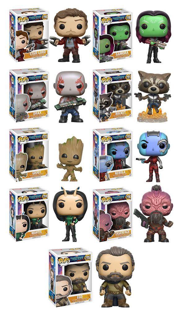 Film Guardians Of the Galaxy 2 Star Lord Edition Vinyl Figure Hobby Funko Pop