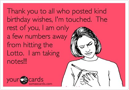 Facebook Thank You For All The Birthday Wishes Thank You For Birthday Wishes Birthday Wishes Funny Birthday Humor