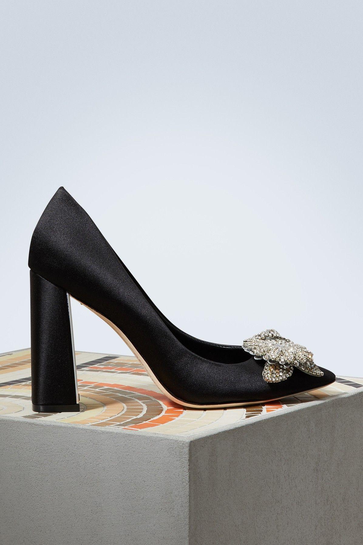 7584b7d1c590 SOPHIA WEBSTER LILICO CRYSTAL PUMPS.  sophiawebster  shoes ...