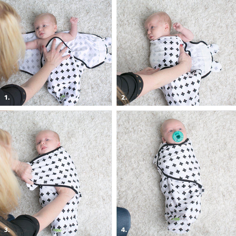 Grey Star Baby Swaddle Wrap Blanket with Handle Portable 100/% Cotton Knitted Soft Adjustable Infant Swaddling Towel Envelopes Sleeping Bag for Newborn Boy Girl Kids