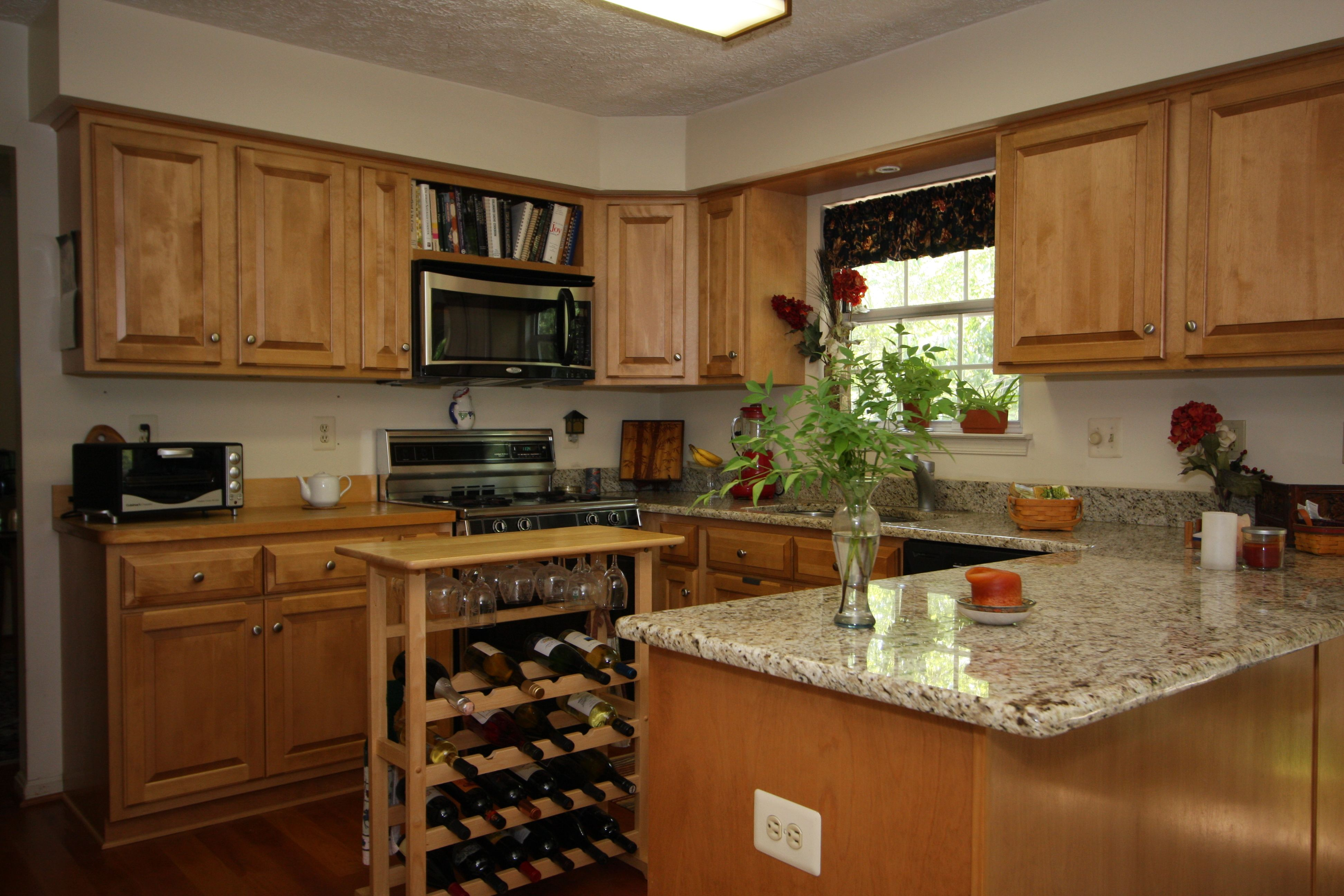 beautifully refaced countertops cabinets and drawers make this kitchen a wonder for your on kitchen cabinets refacing id=34964