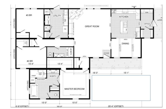 Briar Ritz Floorplan Modular Homes Mobile Home Floor Plans Floor Plans