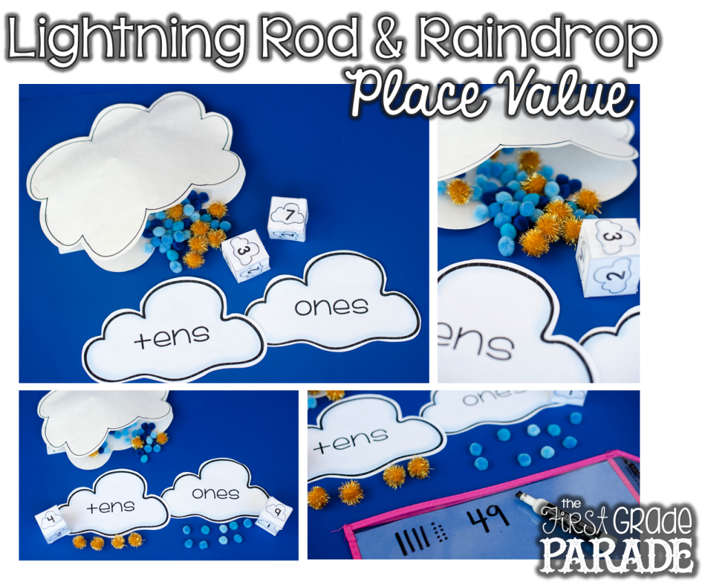 Grab This Free Weather Themed Place Value Game To Help Your Students Practice Their