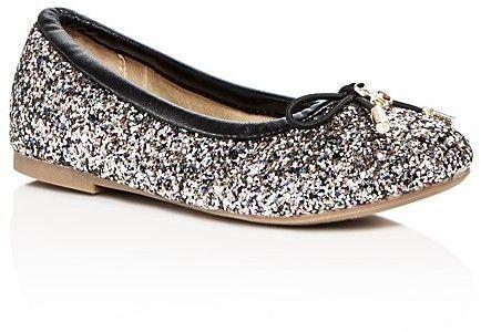 55009d77d7ff6 Sam Edelman Girls  Felicia Glitter Ballet Flats