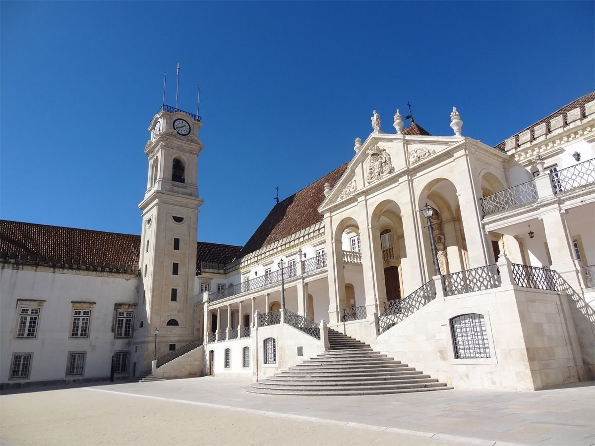 The oldest university in Portugal, the University of Coimbra | House  styles, Old things, Coimbra