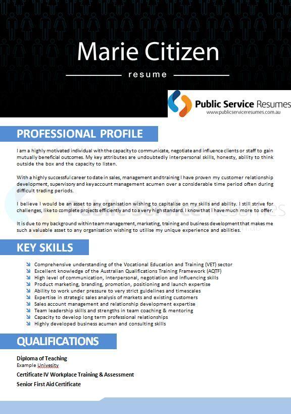 Professional selection criteria writing service perth