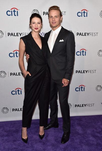 """Sam Heughan Photos: The Paley Center For Media's 32nd Annual PALEYFEST LA - """"Outlander"""" - Arrivals"""