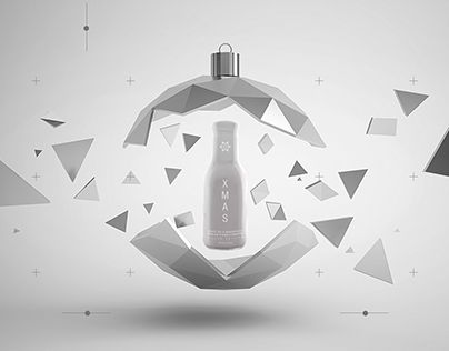 """Check out new work on my @Behance portfolio: """"Hatsu XMAS"""" http://on.be.net/1BQoY8T"""