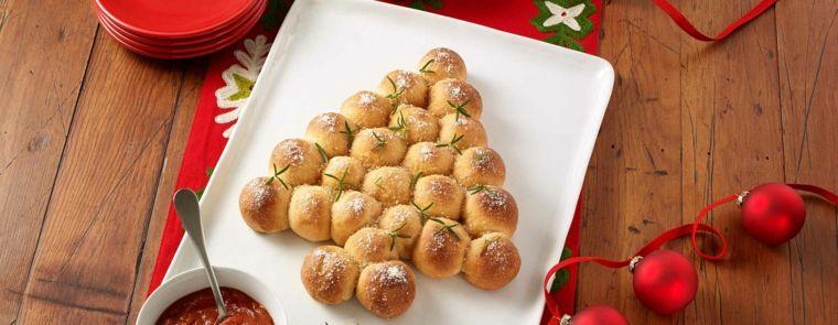 Antipasti Di Natale Fatti Ad Albero.Antipasti Natalizi Sfiziosi Con Panini Fatti In Casi E